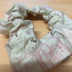 Pairs/ travel themed scrunchies