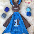My 1st Easter Bunny 'Ruggybud' - personalised, comforter, keepsake, lovey.