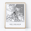 Personalised map artwork - customised to your required location - gift
