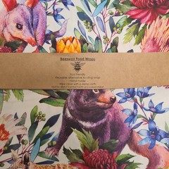 Beeswax Wrap Australian Animals
