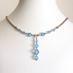 Swarovski Crystal Necklace: Landon