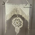 Rustic Native American Inspired  Style Dream Catcher medium size