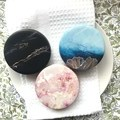 Marble - limited edition soy candle   Travel Tin   Gift   Home Decors