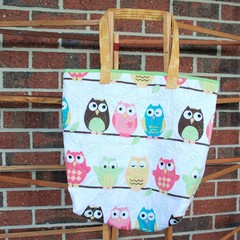 Owl 'Joy' Bag (green)