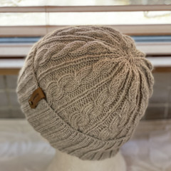 KeepSake Cable Pattern Handmade Knitted Beanie