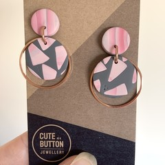 Pink Triangle Dangles