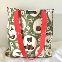 """LARGE TOTE BAG """"FOREST FRIENDS"""""""