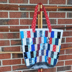 Patchwork 'Joy' Bag