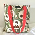 "LARGE TOTE BAG ""FOREST FRIENDS"""