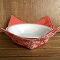 Microwave Bowl Holder - Coral