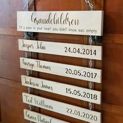 Personalised Grandparents Sign