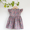 Berry Floral Toddler Dress Size 2