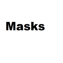 3 layer Mask Face Cover Reusable Cloth Masks