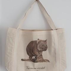 Tote Bag - Tasmanian Wombat