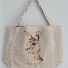 Tote Bag - Eastern Grey (Forester) Kangaroo
