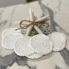 Crotchet Cotton Face Scrubbies | 4 Pack