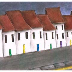 The Street   A5 Print