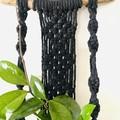 Black/driftwood 1 plant hanger