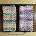 100% Cotton Crochet Wash cloth/Dish cloths