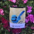 Ecofriendly Blue Wren Beeswax Bag