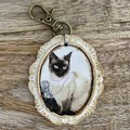 Shabby Chic Key Ring