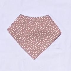 Pink dot Bandana bib