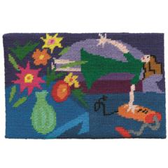 "Jennifer Pudney Needlepoint Kits - ""Immaculate Housewife"""