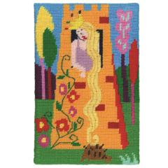 "Jennifer Pudney Needlepoint Kits - ""Rapunzel"""