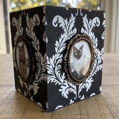 Decoupage Shabby Chic Pen Holder