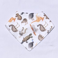 Native Animal Bandana Dribble Bib