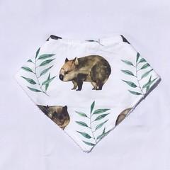 Wombat Bandana Bib