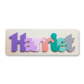 Personalised Wooden Name Puzzles
