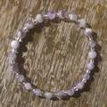 Amethyst Beaded Bracelet