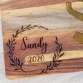 Personalised Cheese Board and Knife Set  - See more designs