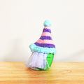 Cute Gnome with Stripey Hat