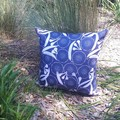 "JOCELYN PROUST FLORAL OUTDOOR  CUSHION COVER/50 CM X 50 CM/20"" X 20"""