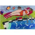 "Jennifer Pudney Needlepoint Kits - ""Mainly Fine with an Afternoon Tea Breeze"""