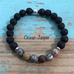 Stone & Lava Stone Bracelet