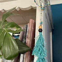 Boho Turquoise  Bead Garland