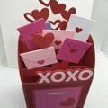 Mail box card for valentines day