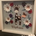 Giraffe Shadow Box