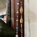 Boho Turquoise and Brown Bead Garland