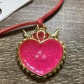 Pearl Heart fantasy resin Necklace