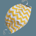 REVERSIBLE Face Mask - 100% cotton - THE BEES KNEES by Sunshine Face Masks