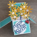Thank You So Much - Daisy Card in a Box