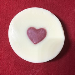 Valentines Love Heart Romance  Red or Sincere Yellow  Soap Gift Shea Butter