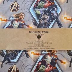 Beeswax Wrap Avengers