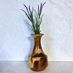 'Wood Swirls' Dead Finish Weed Pot (item DF014)
