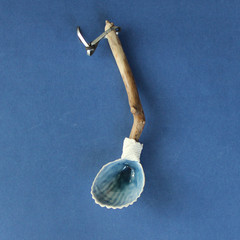 Cockle Shell Serving Spoon
