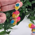 Bloomin' Flamingo Glitter Resin - MEGA Dangle earrings